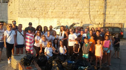 Nautilus Project Marine Awareness Gibraltar Beach Clean Up
