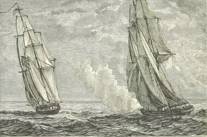 1830 Pirate Benito de Soto - Burla Negra hanged in Gibraltar