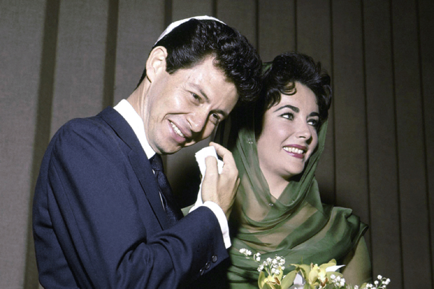 1959 Elizabeth Taylor and Eddie Fisher Wedding in Gibraltar