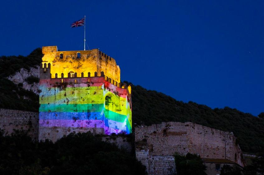2016 Moorish Castle - Gibraltar's tribute to Orland nightclub shooting