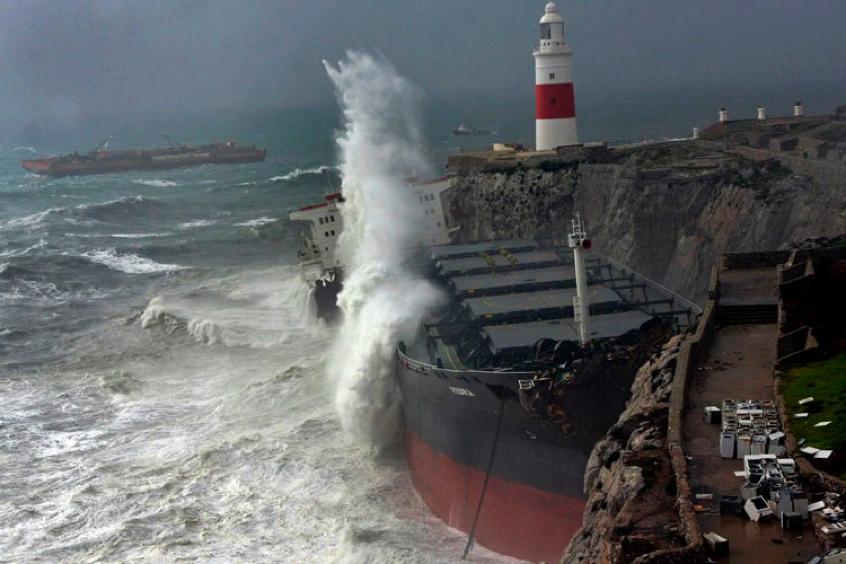 MV Fedra Gibraltar ship wrecks