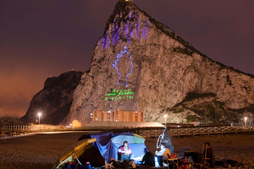 Gibraltar celebrates Queen's 90th birthday