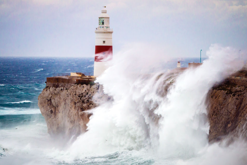 2018 Severe weather conditions Gibraltar