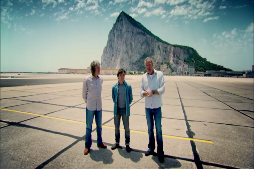 2013 Top Gear Jeremy Clarkson in Gibraltar