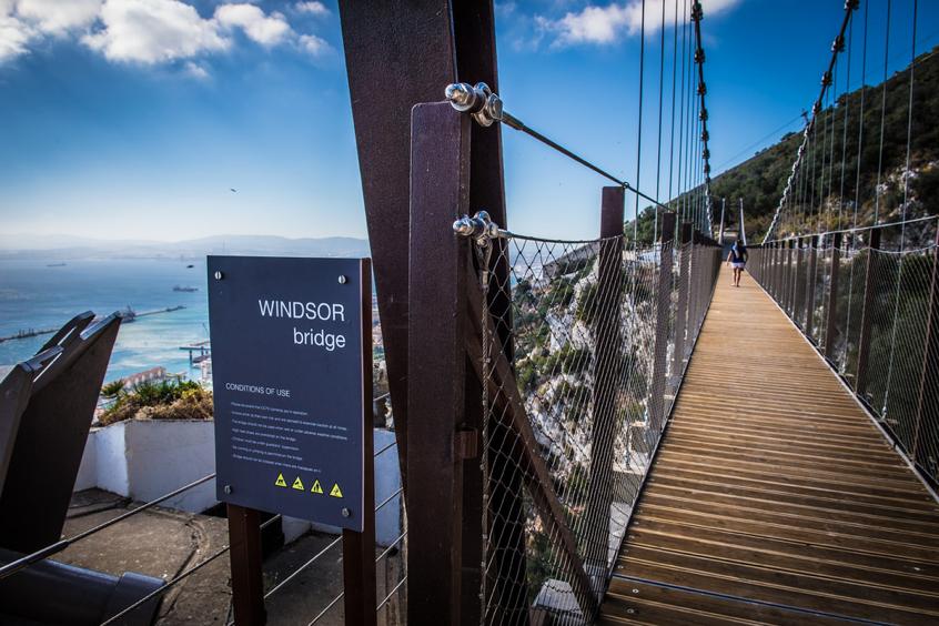 2016 Windsor suspension bridge gibraltar