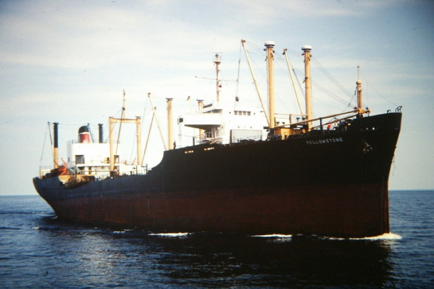 1978 Yellowstone carrier and Ibn Batouta freighter collide in Gibraltar