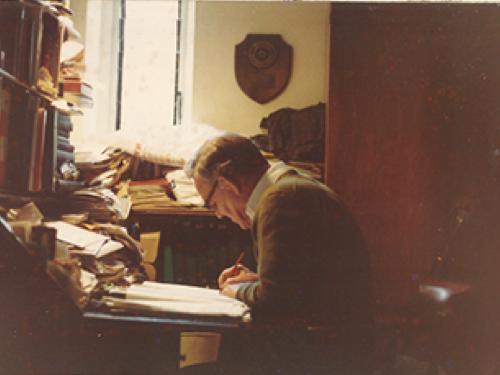 Gibraltar Archivist J.W.V. Cumming 1969 - 1985