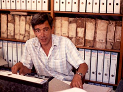 Gibraltar Archivist Thomas Finlayson 1985 - 2004