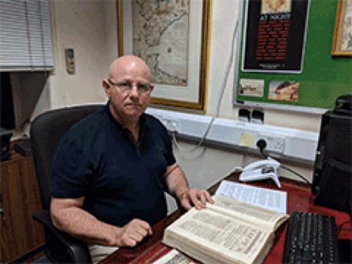Gibraltar Archivist Anthony Pitaluga