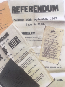 1967 gibraltar referendum posters