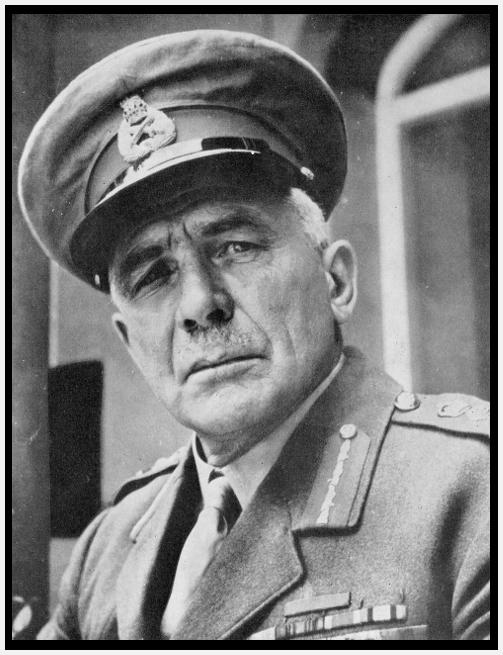 Gibraltar Governor Edmund Ironside