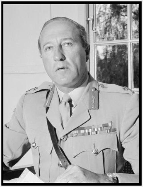 Gibraltar Governor Gerald Lathbury