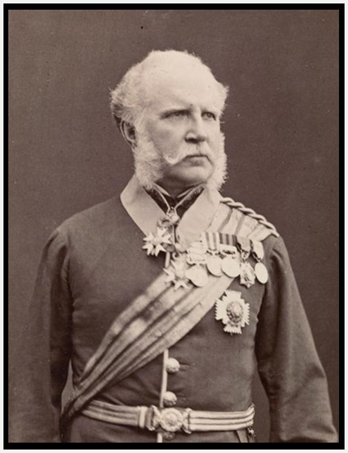 Gibraltar Governor John Adye
