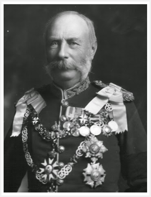 Gibraltar Governor Robert Biddulph