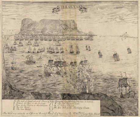 CAPTURE OF GIBRALTAR – THE 11th SIEGE