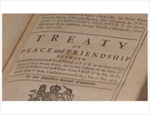 TREATY OF UTRECHT