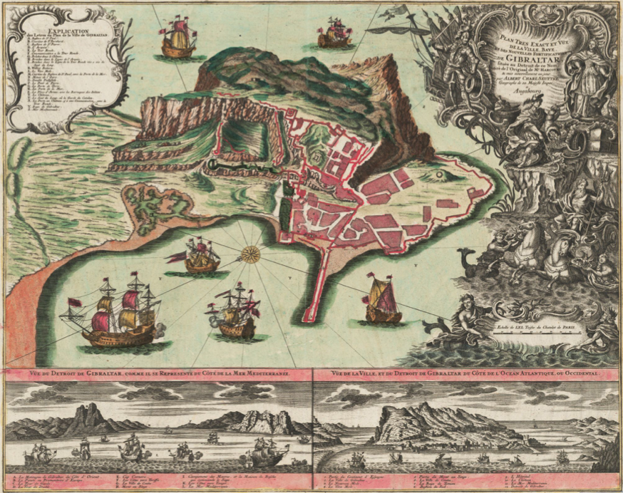Gibraltar National Archives - Mapping Our Past Exhibition