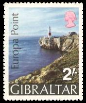 1970 Europa Point Gibraltar Stamp