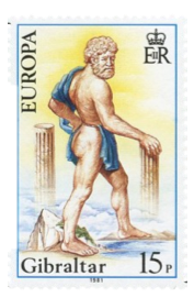 1981 Europa Folklore Gibraltar Stamp