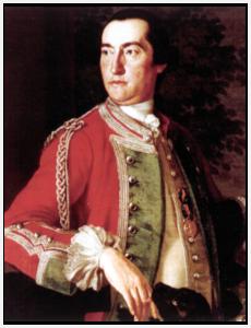 Gibraltar Governor Edward Cornwallis