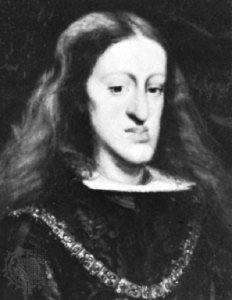 KING CHARLES II OF SPAIN