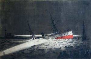 DISASTER AT SEA